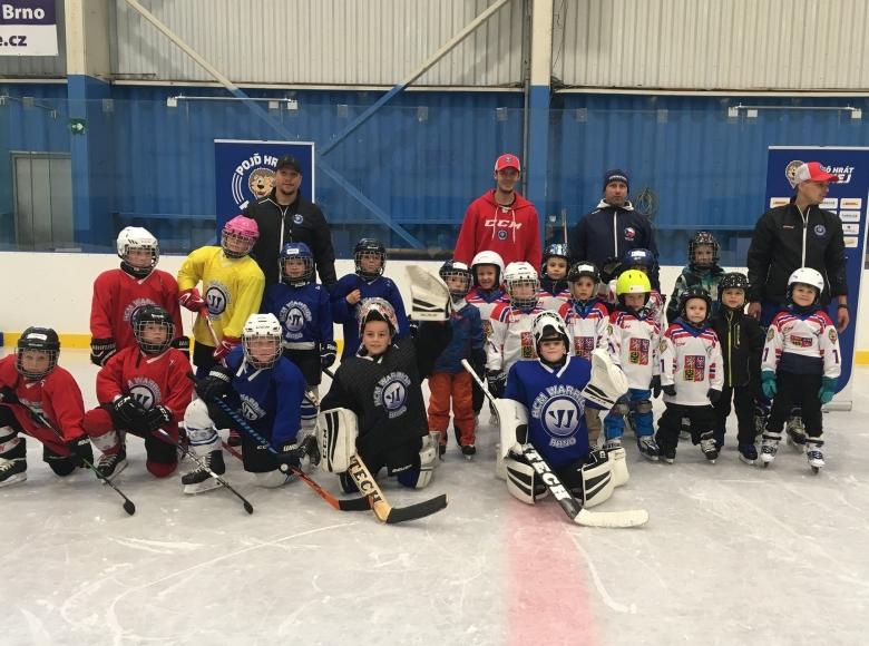 Týden hokeje ve Warriors Brno