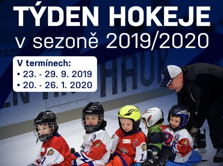 Týden hokeje zná své termíny pro sezonu 2019/2020