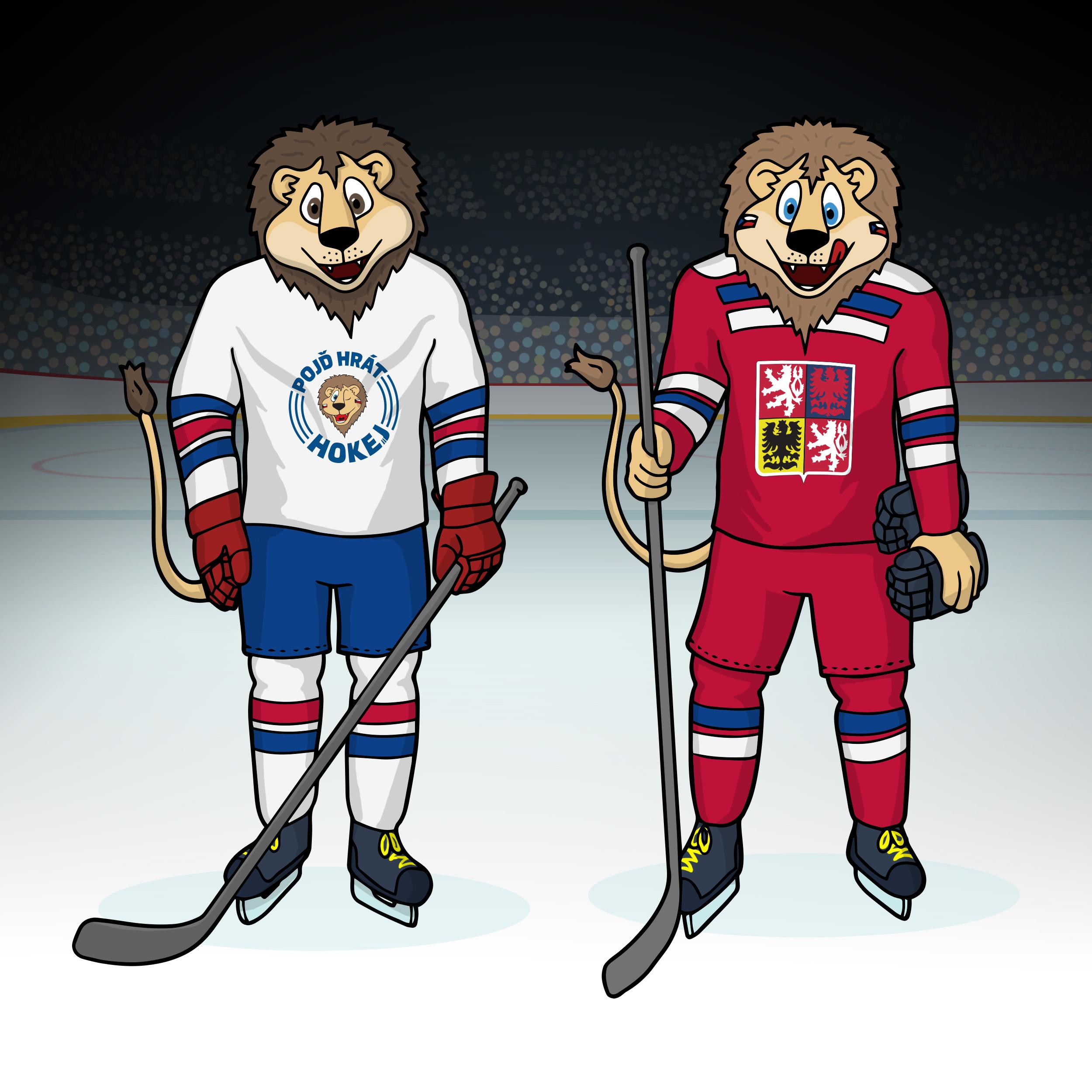 Jsme maskoti českého hokeje