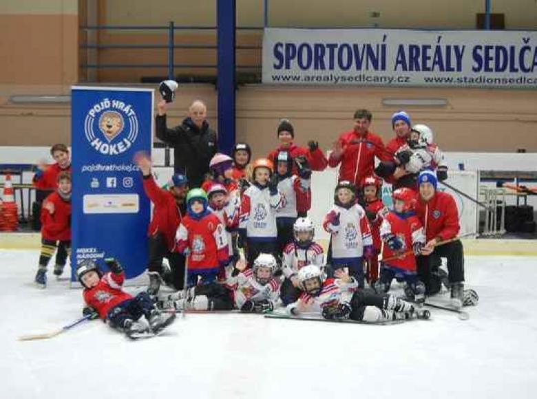 Týden hokeje v Sedlčanech