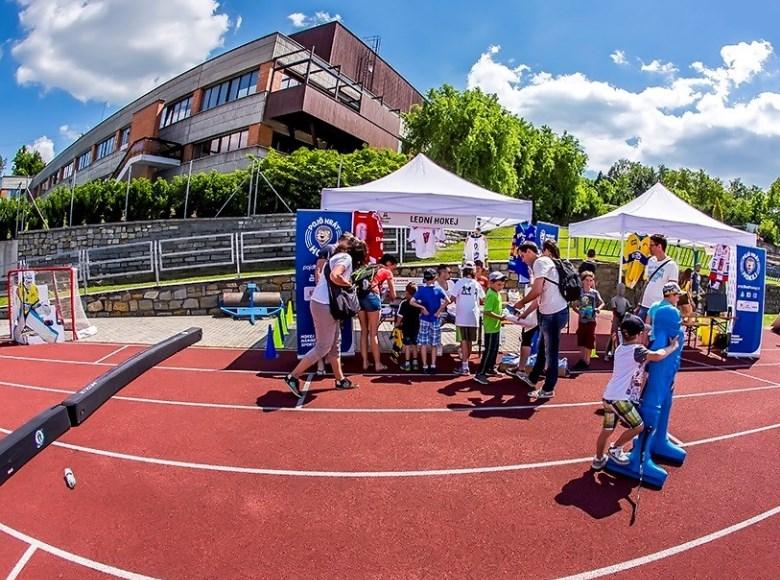 Pojď hrát hokej na festivalu Sporťáček ve Zlíně
