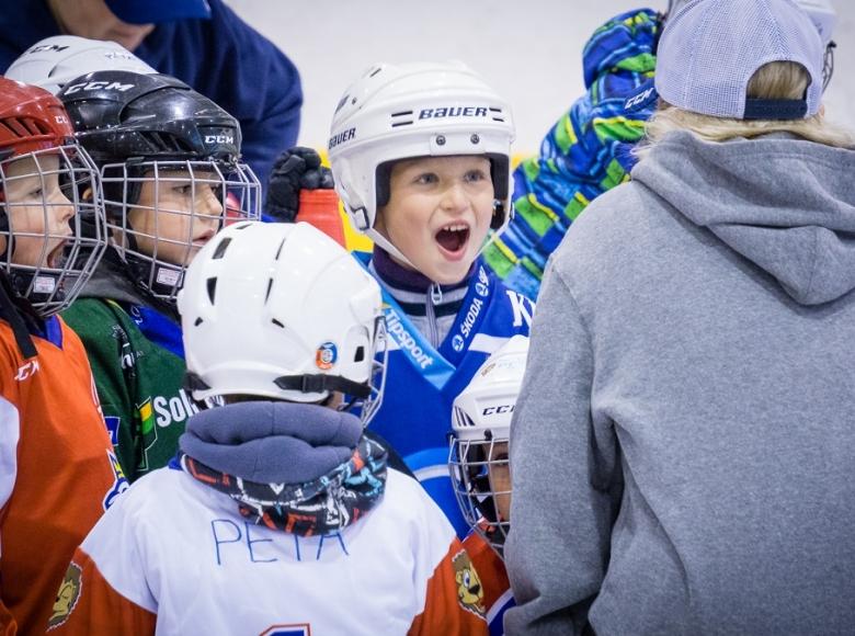 Týden hokeje v Ostrově